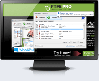 PTFB Pro Software Automation Tool